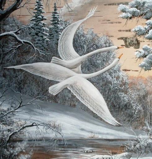 Лебединная верность…СОНАСТРОЕННЫЕ…